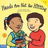Hands Are Not For Hitting book cover.