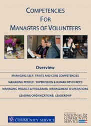 Competencies For Managers of Volunteers Cover