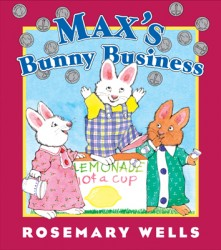 Max's Bunny Business book cover