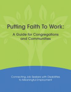 Visit the Putting Faith To Work: A Guide for Congreations and Communities site here.