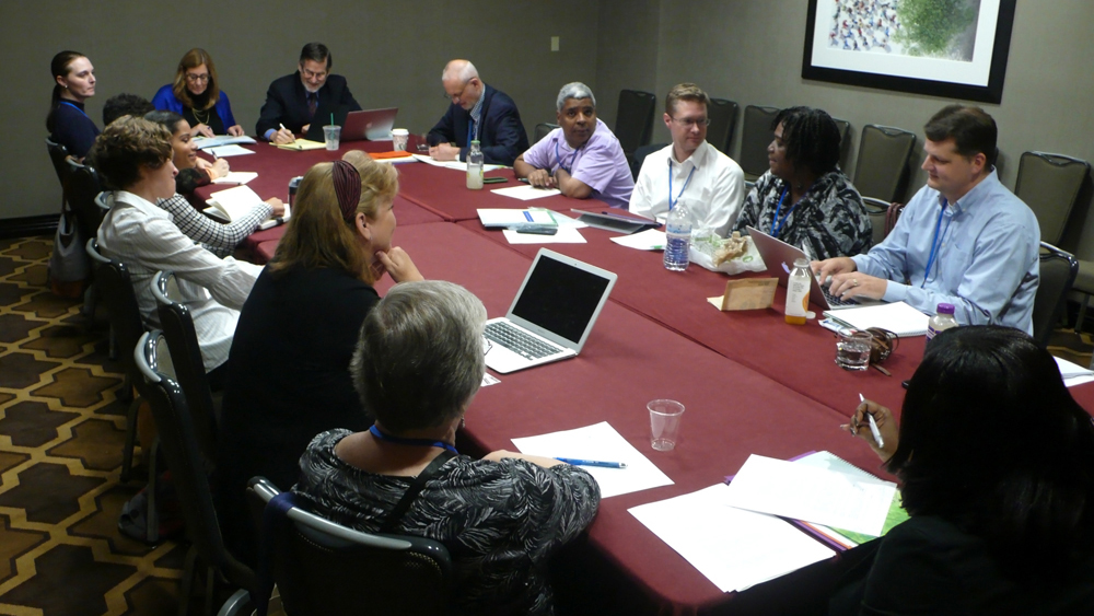 Meeting of the Spiritual Supports Special Interest Group at 2015 AUCD Annual Conference