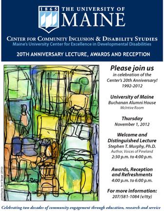 The Ccids 20th Anniversary Invitation
