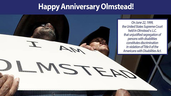 featured image for 17th Anniversary of the Olmstead Decision – Community Integration for Everyone