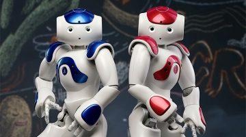 NAO, the humanoid robots.