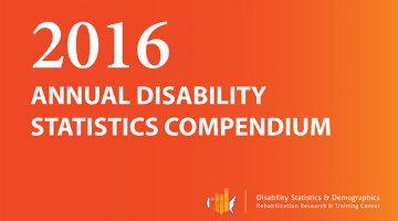 2016 Annual Disability Statistics Compendium.