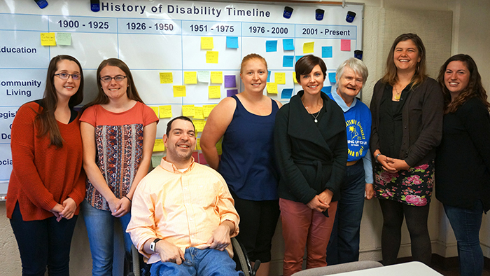 featured image for CAC Members Share Lived History of Disability with NH-ME LEND Trainees