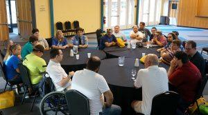 SUFU members at their Leadership Program.