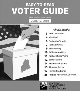 Download the Easy-to-Read Voter Guide–Maine June 2018 Primary PDF.