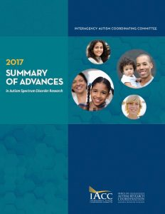 Download the 2017 Summary of Advances in Autism Spectrum Disorder Research 56 page PDF here.