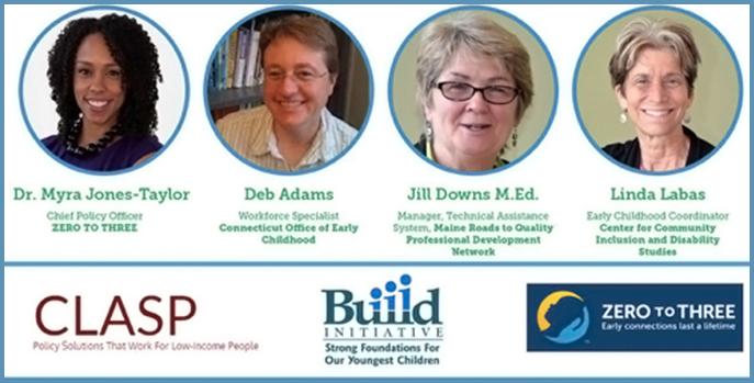 Webinar presenters Dr. Myra Jones-Taylor, Deb Adams, Jill Downs and Linda Labas.