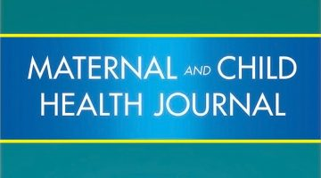 Maternal and Child Health Journal cover.