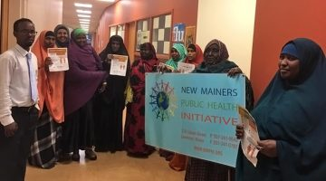 New Mainers Public Health Initiative participants.
