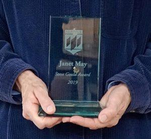 Janet May's Steve Gould Award - 2019