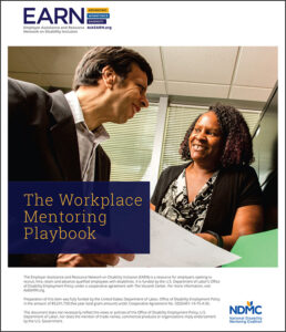 Download the Workplace Mentoring Playbook (PDF).