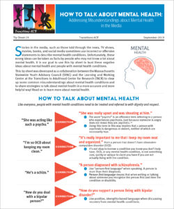 Download How to Talk about Mental Health (PDF).