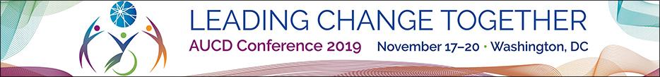 Leading Change Together, AUCD Conference 2019, November 17-20, Washington, DC.