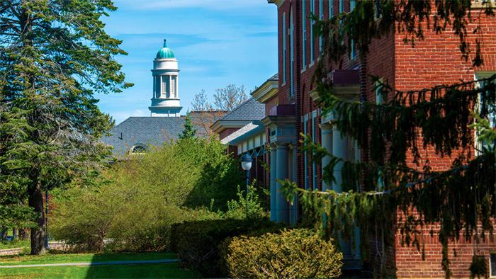 University of Maine buildings in summer.