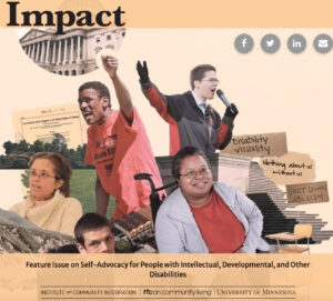 Feature Issue on Self-Advocacy for People with Intellectual, Developmental, and Other Disabilities.