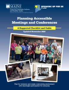 Cover of the Planning Accessible Meetings and Conferences Guide.